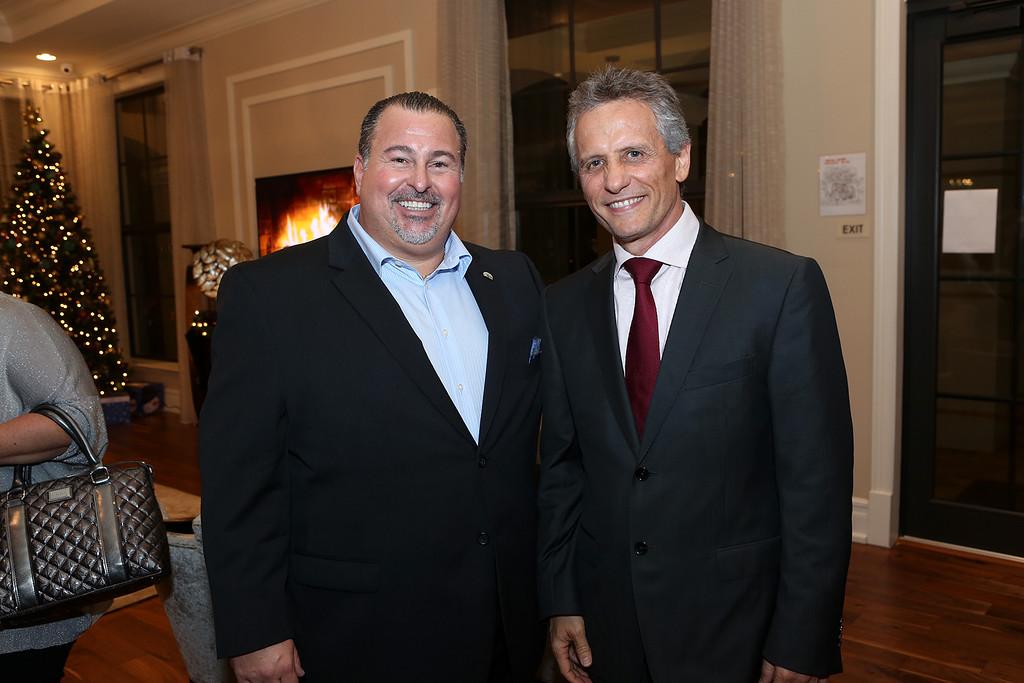 President Alex Lastra & Mayor Luigi Boria