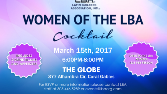 Women of the LBA Updated 2-27-2017